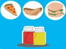 垃圾食物 免版税库存图片