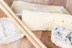 类型乳酪 免版税库存照片