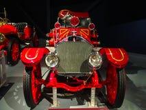 1914 - 类型12消防车在南卡罗来纳博物馆 库存图片