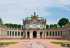 垒亭子在Zwinger宫殿,德累斯顿 免版税图库摄影