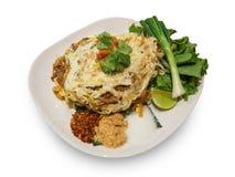 垫泰国泰国辣食物 免版税库存照片