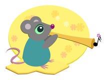 垫铁鼠标 库存图片