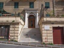埃乌杰尼奥・蒙塔莱房子 库存图片