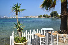 埃伊纳岛海岛希腊 免版税图库摄影