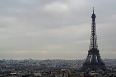 埃佛尔铁塔地平线 免版税库存照片