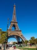 埃佛尔铁塔是地标在巴黎 免版税库存图片