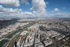 从埃佛尔铁塔的视图 免版税图库摄影