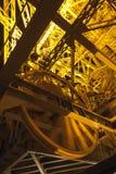 埃佛尔铁塔的细节 免版税库存照片