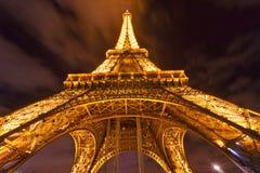 埃佛尔铁塔,巴黎。 库存图片