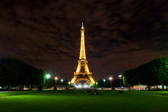 埃佛尔铁塔,巴黎,法国 库存图片