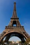 埃佛尔铁塔,巴黎法国 免版税库存图片