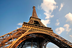 埃佛尔铁塔,巴黎 库存图片