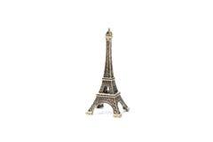 埃佛尔铁塔巴黎缩样纪念品 免版税图库摄影