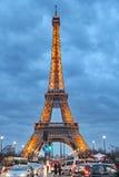 埃佛尔铁塔巴黎 免版税图库摄影