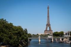 埃佛尔铁塔 免版税库存图片