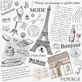 巴黎埃佛尔铁塔 免版税库存照片