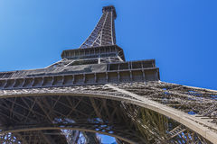 埃佛尔铁塔(La浏览埃菲尔)在巴黎,法国。 免版税库存照片