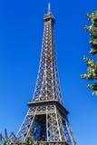 埃佛尔铁塔(La浏览埃菲尔)在巴黎,法国。 库存照片