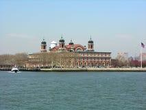 埃利斯岛纽约 免版税库存照片