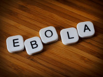 埃博拉病毒概念 图库摄影
