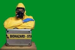 埃博拉病毒 免版税库存图片