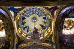 埃及之土著基督教派的内在饰物 库存图片