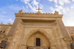 埃及之土著基督教派在开罗,埃及 库存照片