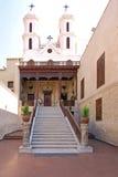 埃及之土著基督教派开罗 库存照片