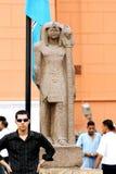 埃及人在埃及博物馆在埃及 库存照片