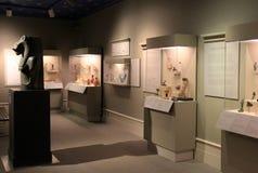 埃及人工制品、学院历史和艺术,阿尔巴尼,纽约惊人的展览, 2016年 图库摄影