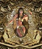 埃及人Seductress 库存照片