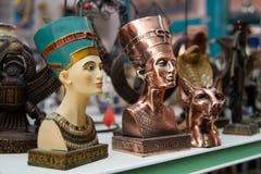 埃及传统文化纪念品 库存图片