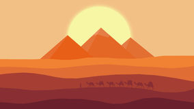 埃及传说 免版税库存照片
