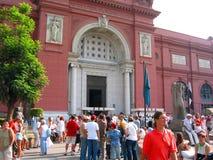 埃及博物馆在开罗在埃及在非洲 库存图片
