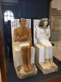 埃及博物馆雕象在开罗 图库摄影