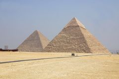 埃及吉萨棉 免版税库存图片
