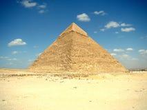 埃及吉萨棉khafre金字塔 免版税库存图片