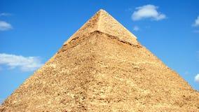 埃及吉萨棉khafre金字塔 库存照片