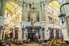 埃及咖啡馆 库存照片