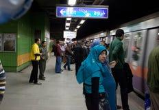 埃及地铁 免版税库存照片