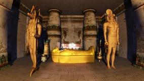 埃及坟茔 免版税库存照片