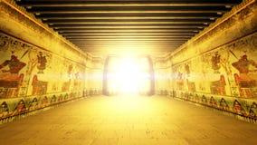 埃及坟茔 库存照片