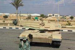 埃及坦克 免版税库存照片