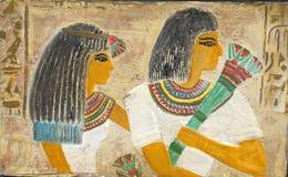 埃及夫妇 免版税库存照片