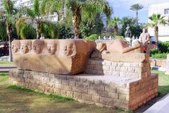 埃及学和上古开罗博物馆。 免版税库存图片