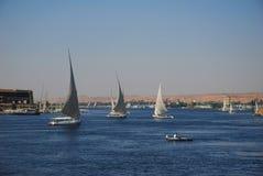 埃及尼罗河 免版税库存照片