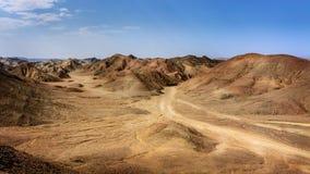 埃及岩石沙漠 免版税库存照片