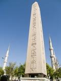 埃及巨型独石 库存照片