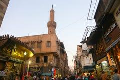 埃及市场 库存照片