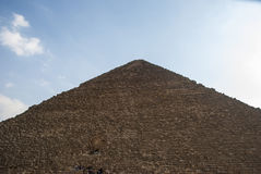 埃及开罗吉萨棉老金字塔法老王 免版税库存照片